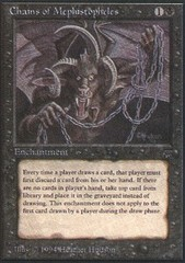 Chains of Mephistopheles on Channel Fireball