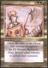 Jerrard of the Closed Fist