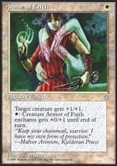 Armor of Faith on Channel Fireball
