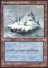 Snow-Covered Island on Channel Fireball