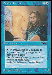 Soldevi Heretic (Blue Robe)