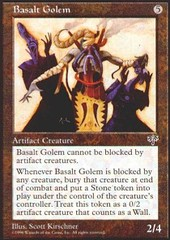 Basalt Golem on Channel Fireball