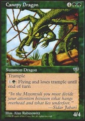Canopy Dragon on Channel Fireball