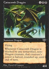 Catacomb Dragon on Channel Fireball