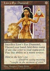 Lion's Eye Diamond on Channel Fireball