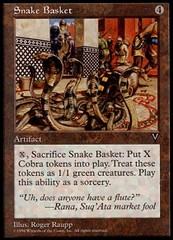 Snake Basket on Channel Fireball