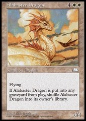 Alabaster Dragon on Channel Fireball