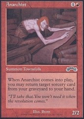 Anarchist on Channel Fireball