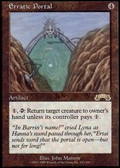 Erratic Portal on Channel Fireball