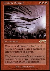 Seismic Assault on Channel Fireball