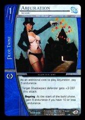 Abjuration, Magic