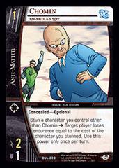 Chomin, Qwardian Spy