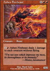 Ashen Firebeast on Channel Fireball