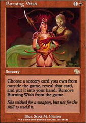 Burning Wish on Channel Fireball