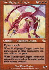 Worldgorger Dragon on Channel Fireball