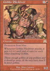 Goblin Piledriver on Channel Fireball
