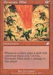 Pyrostatic Pillar