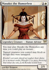 Masako the Humorless