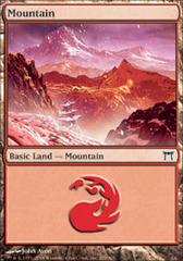 Mountain (299) on Channel Fireball
