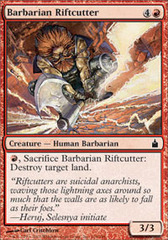 Barbarian Riftcutter on Channel Fireball
