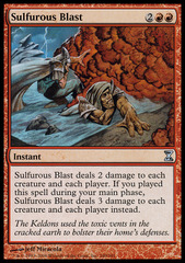 Sulfurous Blast