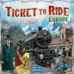 Ticket to Ride: Europe on Channel Fireball