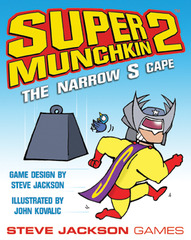 Munchkin Super 2: The Narrow S Cape