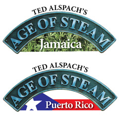 Age of Steam Expansion: Jamaica / Puerto Rico