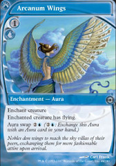 Arcanum Wings on Channel Fireball