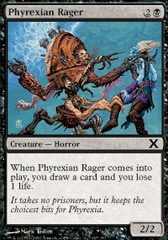 Phyrexian Rager on Ideal808