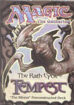 Tempest Slivers Precon Theme Deck