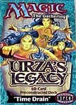 Urza's Legacy Time Drain Precon Theme Deck on Channel Fireball