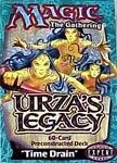 Urza's Legacy Time Drain Precon Theme Deck