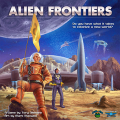 Alien Frontiers Big Box - Includes all expansions
