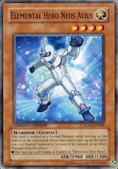 Elemental Hero Neos Alius - GLD2-EN028 - Common - Limited Edition