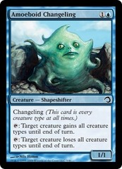 Amoeboid Changeling - Foil on Channel Fireball