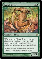 Brood Sliver - Foil on Channel Fireball