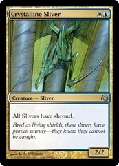 Crystalline Sliver on Channel Fireball