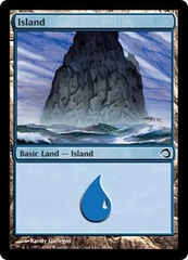 Island - Foil on Channel Fireball