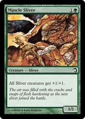 Muscle Sliver - Foil on Channel Fireball