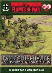 Fallschirmjr PaK40 Platoon - Platoon Box Sets