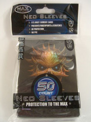 Max Protection Standard Size Black Skull Sleeves - 60ct