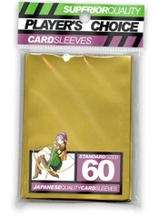 Player's Choice Standard Gold Sleeves (60 ct.) on Channel Fireball