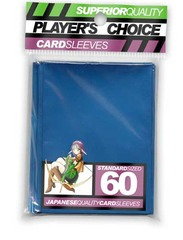 Player's Choice (Metallic Blue) - Standard Sleeves - 60ct