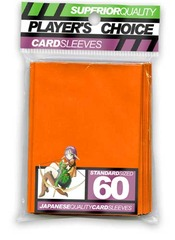 Player's Choice Standard Orange Sleeves (60 ct.) on Channel Fireball