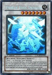 Power Tool Dragon - RGBT-EN042 - Ghost Rare - 1st Edition