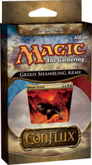 Conflux Intro Pack - Grixis Shambling Army on Ideal808