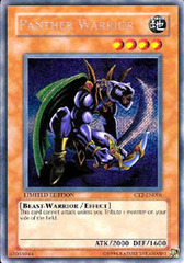 Panther Warrior - CT2-EN006 - Secret Rare - Limited Edition on Channel Fireball