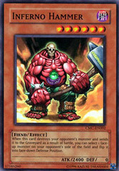 Inferno Hammer - CMC-EN002 - Super Rare - Promo Edition on Channel Fireball