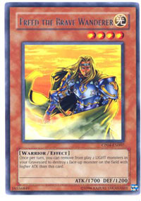 Freed the Brave Wanderer - CP04-EN007 - Rare - Promo Edition